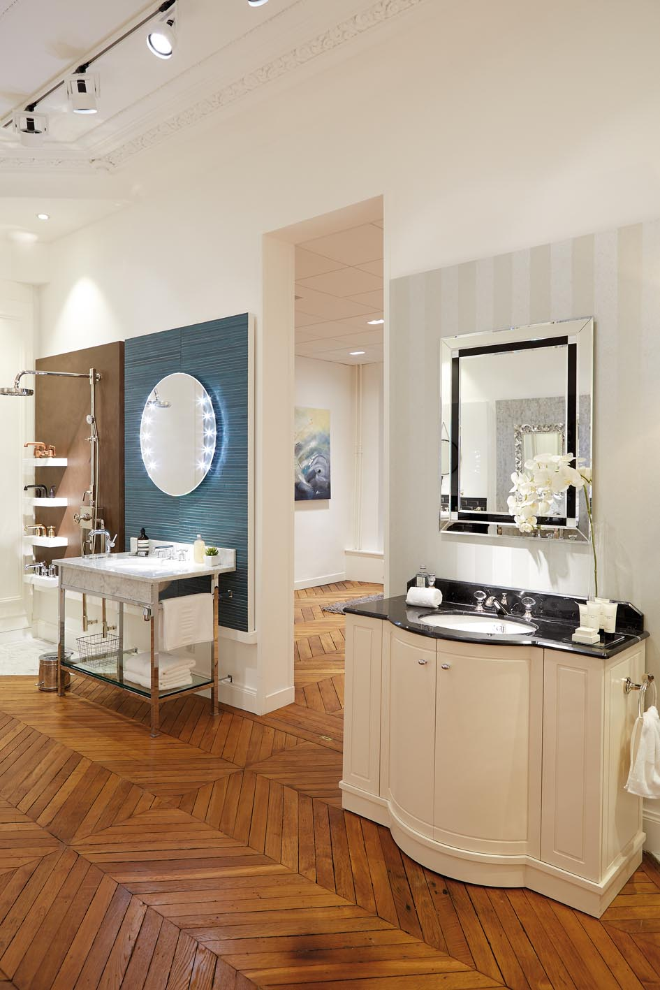 Apartment 152 showroom by THG Paris - The Kitchen and Bathroom Blog