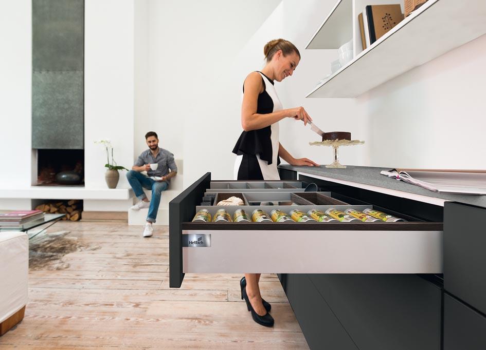 Hettich drawer expertise