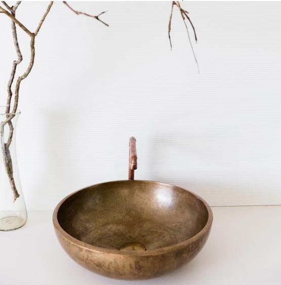 Merwe bronze basins