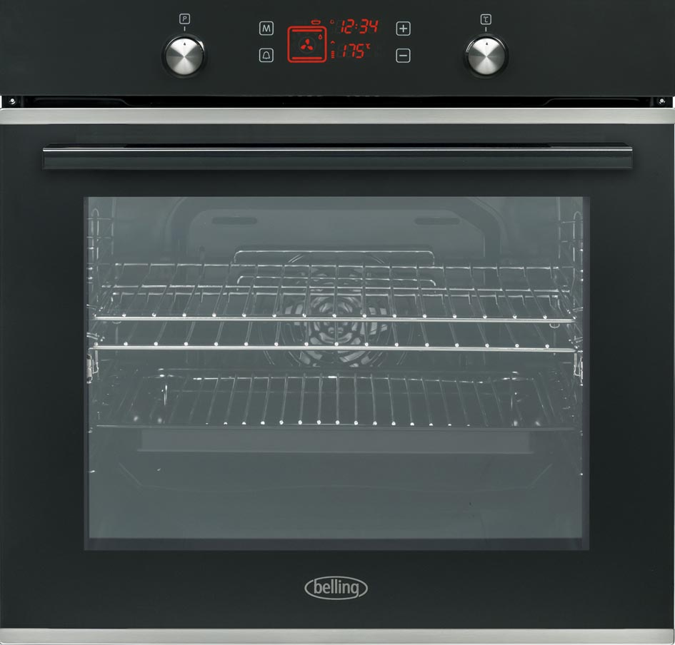 Belling Black built-in ovens