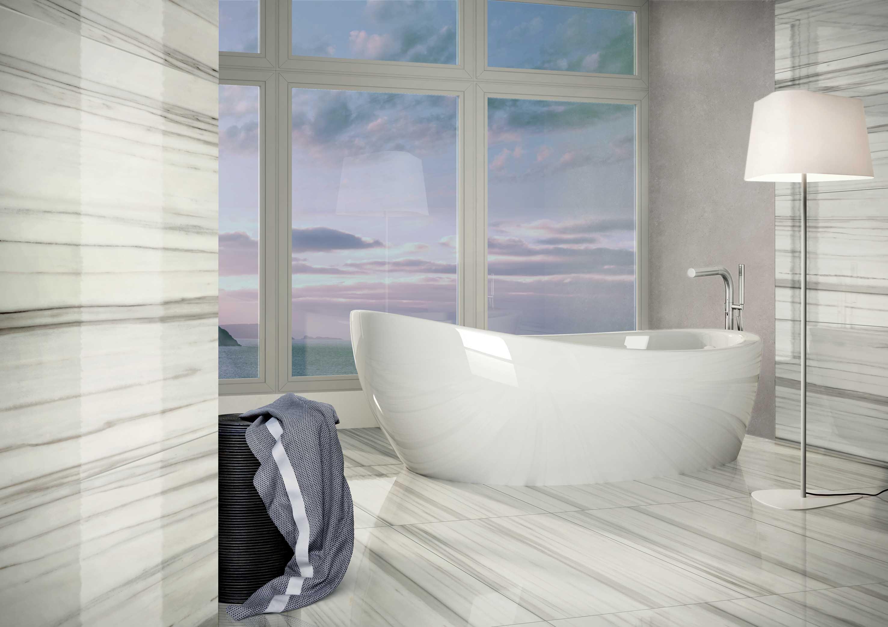 Casalgrande Padana - Marmoker tile series - The Kitchen and Bathroom ...