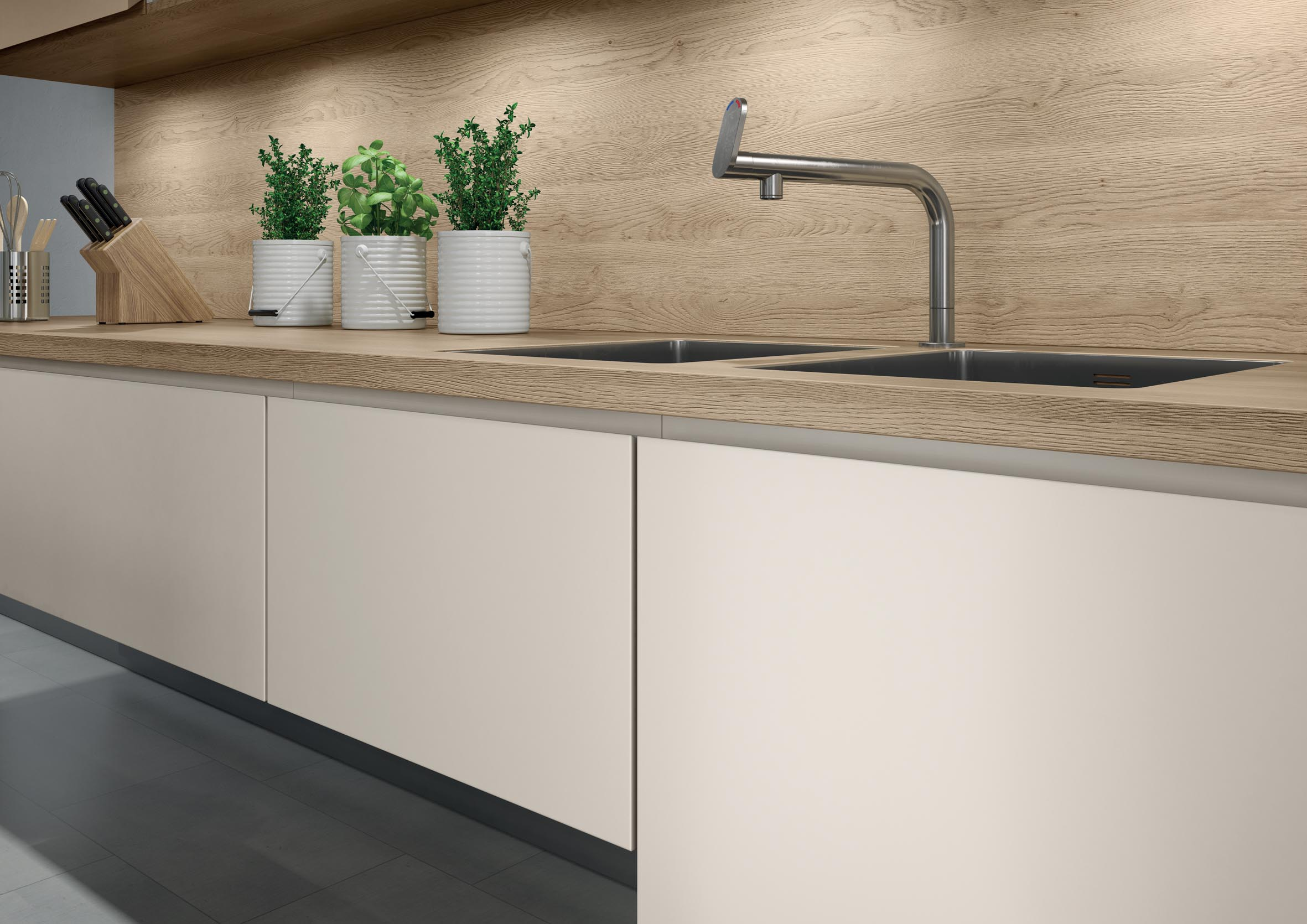 Egger perfectsense interzum 2015 the kitchen and for Perfect kitchen and bath quincy