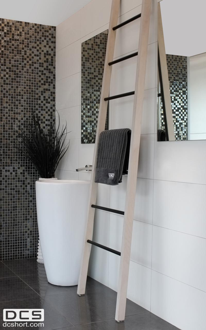 Heated Wooden Towel Ladders The Kitchen And Bathroom Blog