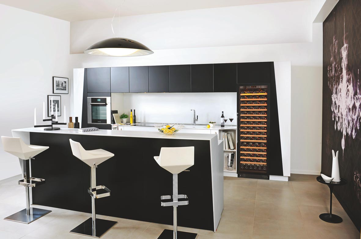 EuroCave compact wine cabinets - The Kitchen and Bathroom Blog