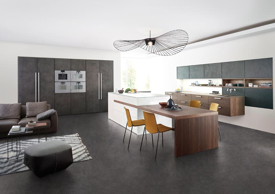 trend report individualised kitchen design the kitchen and bathroom blog. Black Bedroom Furniture Sets. Home Design Ideas