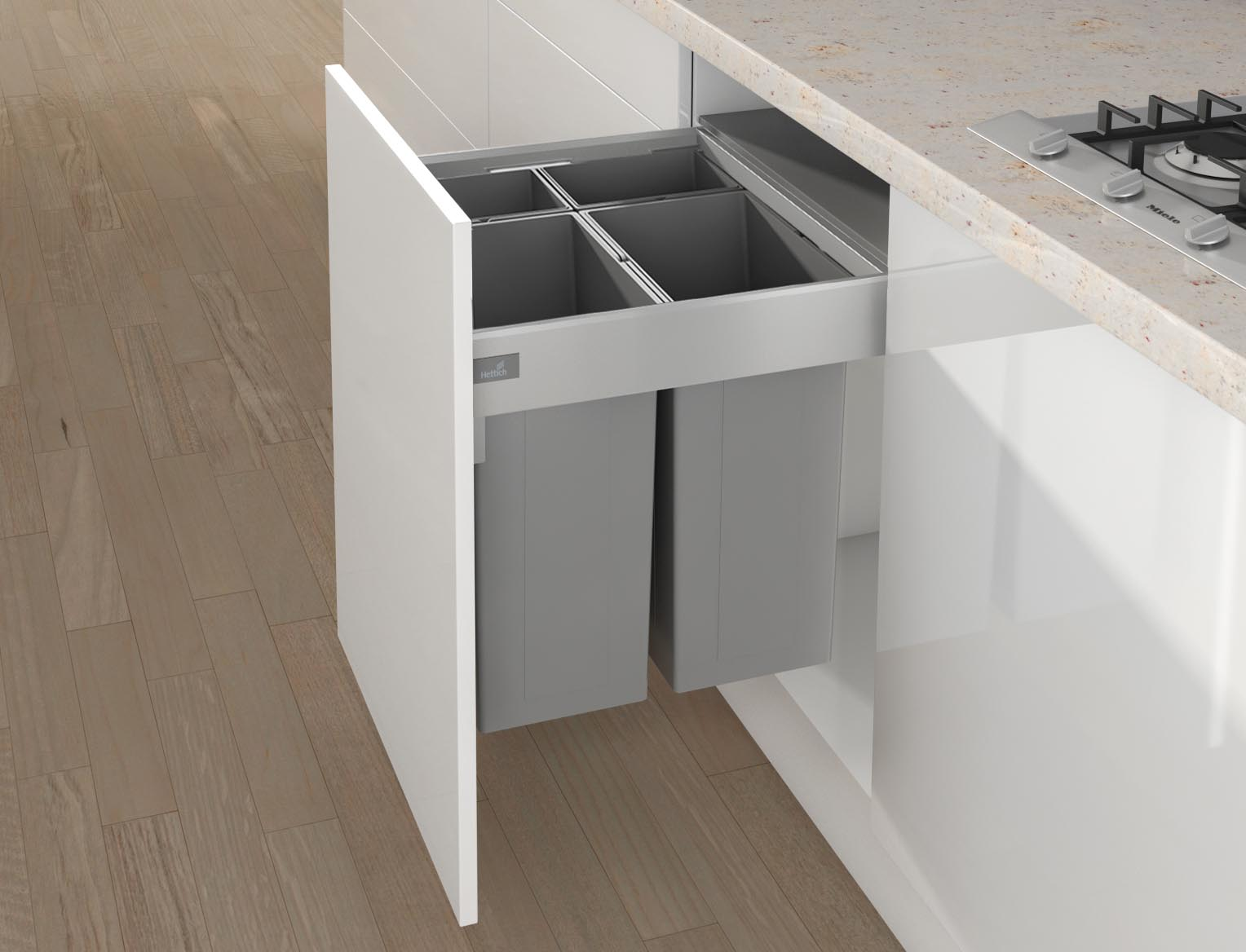 Waste Systems By Hettich The Kitchen And Bathroom Blog