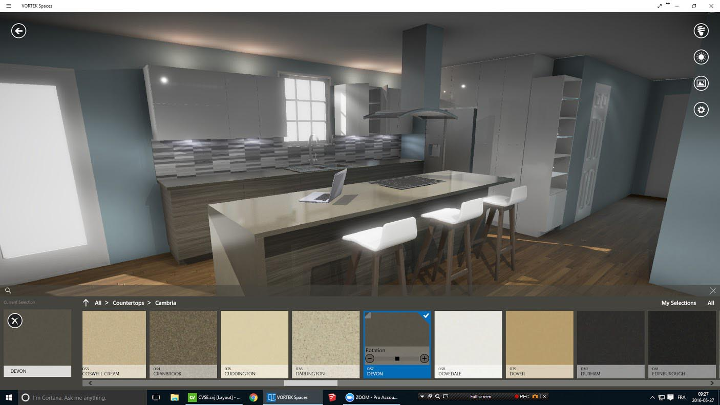 Virtual Reality With Vortek Spaces The Kitchen And Bathroom Blog
