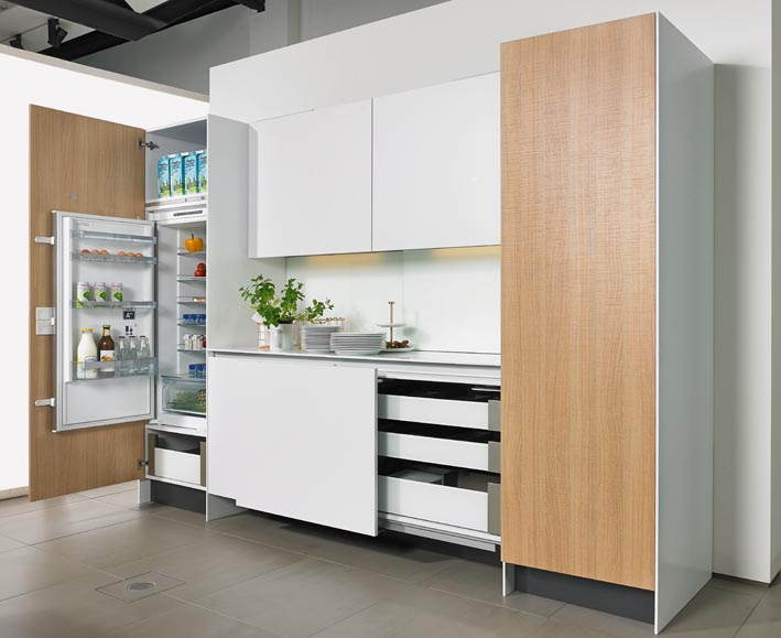 Hettich Easys for fridges - The Kitchen and Bathroom Blog