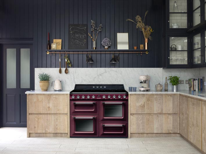 Bon These New Options Will Make The Smeg Victoria Cooker Immensely Popular With  Lovers Of Contemporary Kitchens, Whose Owners Are Embracing New Technology  And ...