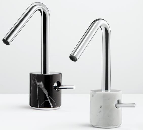 Marmo basin mixer