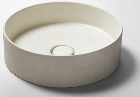 NeuCrete countertop basins